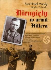 Nieugięty w armii Hitlera - okładka książki