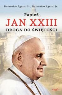 Papież Jan XXIII. Droga do świętości - okładka książki