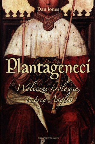 Plantageneci. Waleczni królowie, - okładka książki