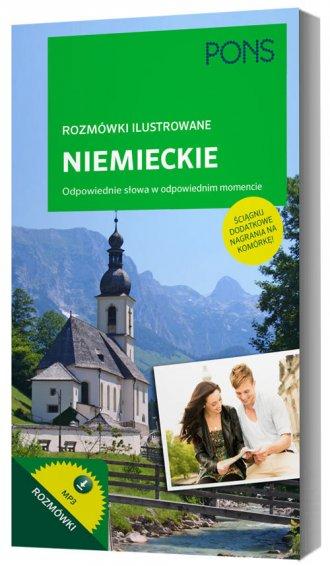 Rozmówki ilustrowane audio - niemieckie - okładka podręcznika