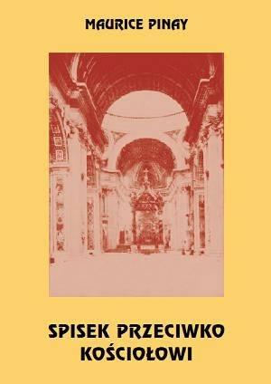 Spisek przeciwko Kościołowi. Tom - okładka książki