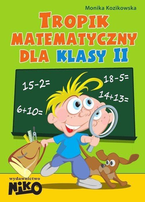 Tropik matematyczny dla klasy 2. - okładka podręcznika