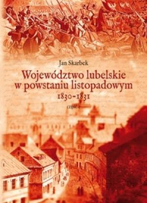 Województwo lubelskie w powstaniu - okładka książki