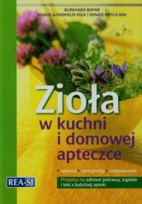 Zioła w kuchni i domowej apteczce - okładka książki