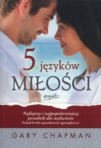 5 języków miłości - okładka książki