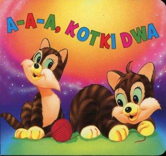 A-A-A kotki dwa - okładka książki