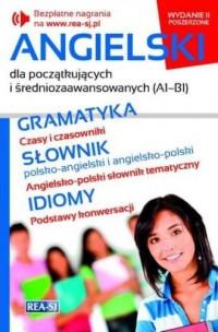 Angielski dla początkujących i średniozaawansowanych A1-B1 - okładka podręcznika
