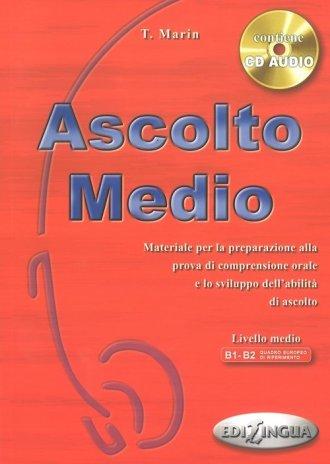 Ascolto Medio. Podręcznik B1-B2 - okładka podręcznika