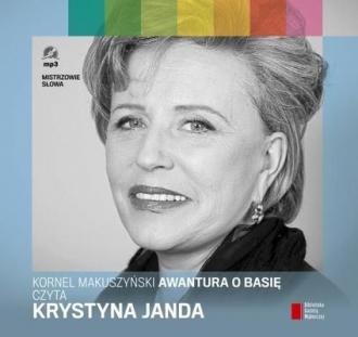Awantura o Basię (CD mp3) - pudełko audiobooku