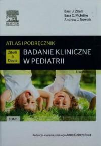 Badanie kliniczne w pediatrii. - okładka książki