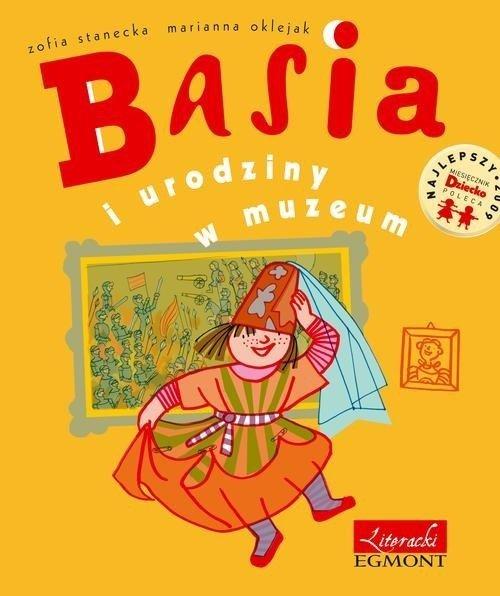 Basia i urodziny w muzeum - okładka książki