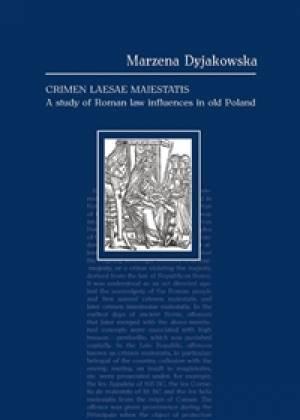 Crimen laesae maiestatis. A study - okładka książki