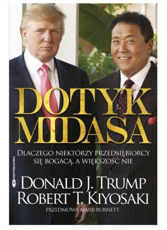Dotyk Midasa - okładka książki
