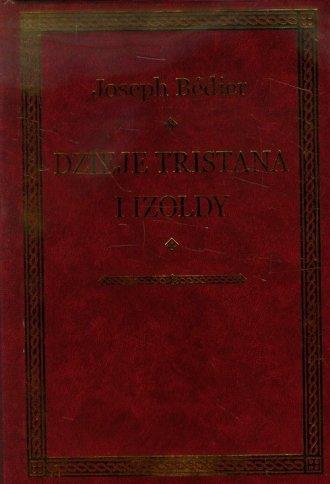 Dzieje Tristana i Izoldy - okładka podręcznika