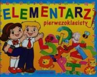 Elementarz pierwszoklasisty - okładka podręcznika