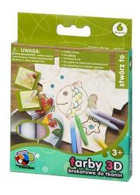 Farby 3D (6 kolorów) - zdjęcie zabawki, gry