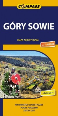 Góry Sowie. Mapa turystyczna (w - okładka książki