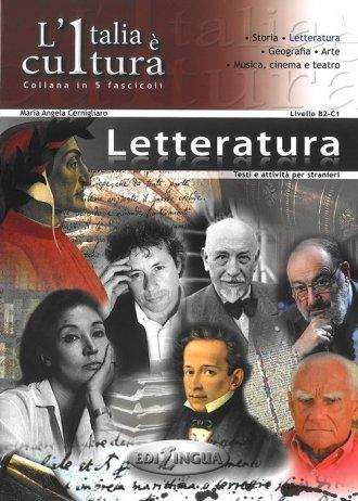 Italia e cultura. Letteratura. - okładka podręcznika