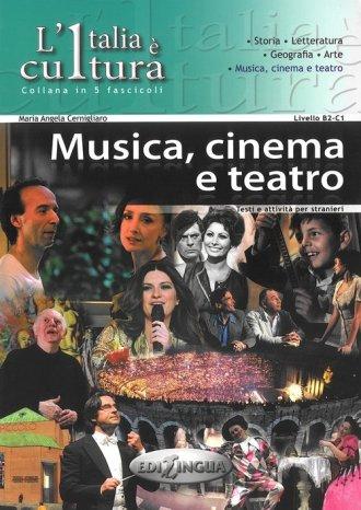 Italia e cultura. Musica, cinemo - okładka podręcznika