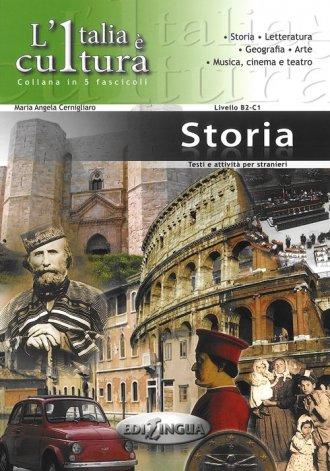 Italia e cultura Storia. Poziom - okładka podręcznika