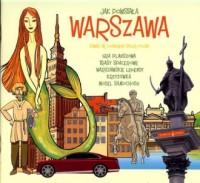 Jak powstała Warszawa - okładka książki