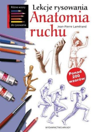 Lekcje rysowania. Anatomia ruchu - okładka książki