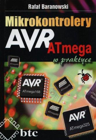 Mikrokontrolery AVR ATmega w praktyce - okładka książki