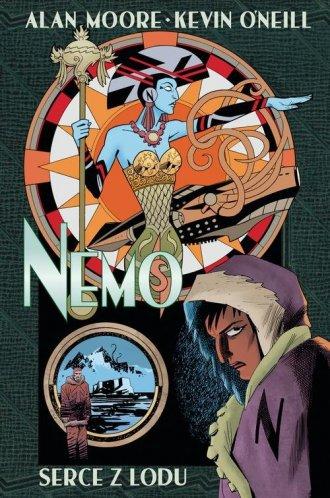 Nemo. Serce z lodu - okładka książki