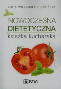 Nowoczesna dietetyczna książka - okładka książki