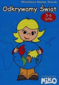 Odkrywamy świat. Nauczanie przedszkolne. - okładka podręcznika