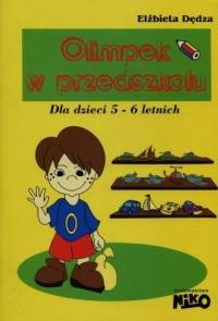 Olimpek w przedszkolu - dla dzieci - okładka podręcznika