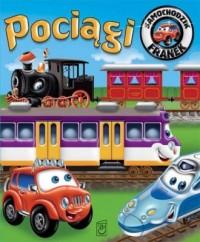 Pociągi. Samochodzik Franek - okładka książki