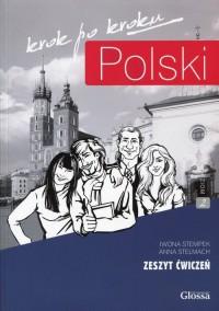 Polski krok po kroku. Zeszyt ćwiczeń - okładka podręcznika