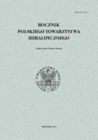 Rocznik Polskiego Towarzystwa Heraldycznego. - okładka książki