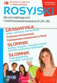 Rosyjski dla początkujących i średniozaawansowanych A1-B1 - okładka podręcznika