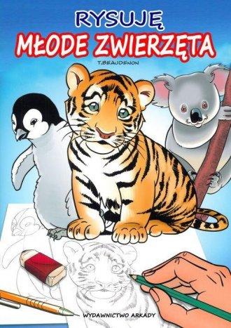 Rysuję młode zwierzęta - okładka książki