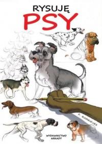 Rysuję psy - okładka książki