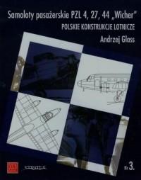 Samoloty pasażerskie PZL 4 27 44 - okładka książki