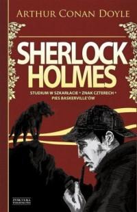 Sherlock Holmes. Studium w szkarłacie. - okładka książki