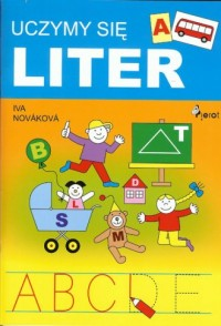Uczymy sie liter - okładka książki