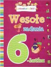 Wesołe zadania 6-latka - okładka książki