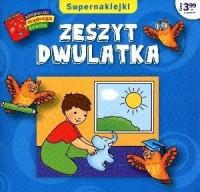 Zeszyt dwulatka. Biblioteczka mądrego dziecka - okładka książki