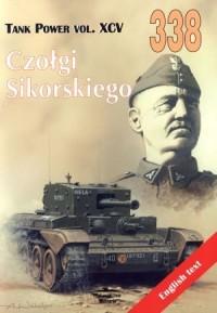 Czołgi Sikorskiego. Tank Power - okładka książki
