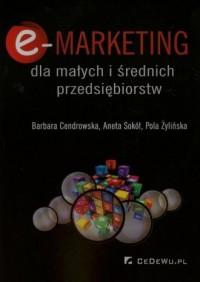 E-marketing dla małych i średnich przedsiębiorstw - okładka książki
