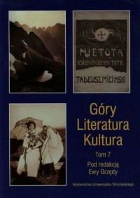 Góry. Literatura. Kultura. Tom 7 - okładka książki