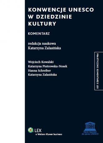 Konwencje UNESCO w dziedzinie kultury. - okładka książki