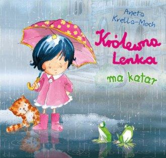 Królewna lenka ma katar - okładka książki