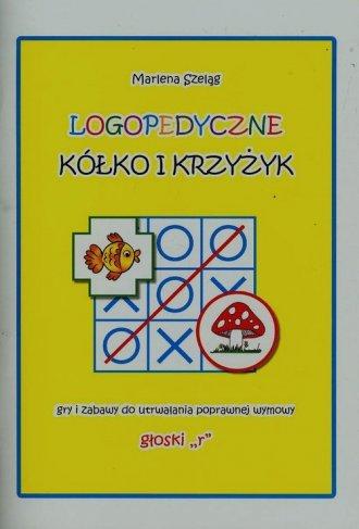 Logopedyczne kółko i krzyżyk. Gry - okładka książki