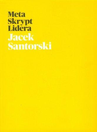 Metaskrypt Lidera - okładka książki