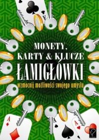 Monety, karty i klucze Łamigłówki. - zdjęcie zabawki, gry